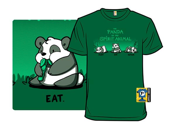The Panda Is My Spirit Animal T Shirt