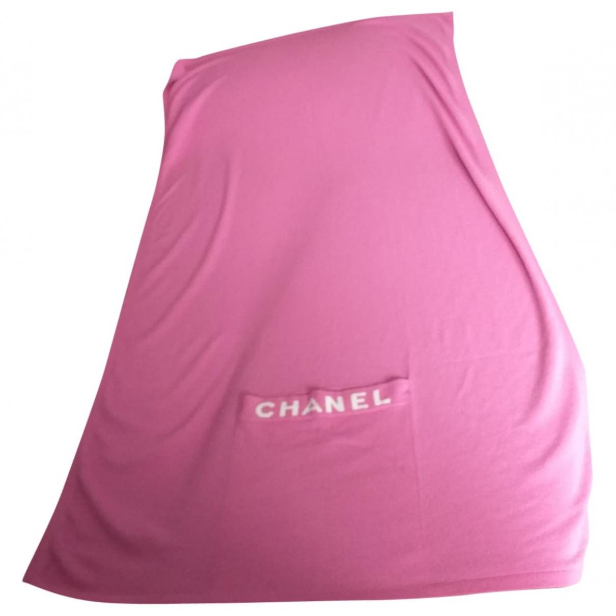 Chanel - Linge de maison   pour lifestyle en cachemire - rose