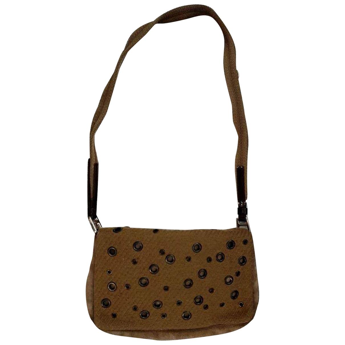 Prada \N Suede handbag for Women \N