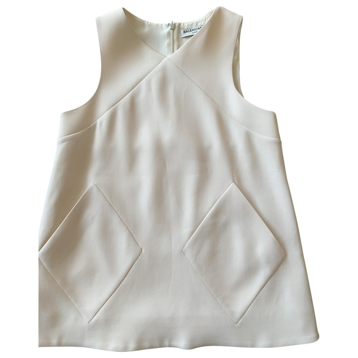 Camiseta sin mangas de Seda Balenciaga