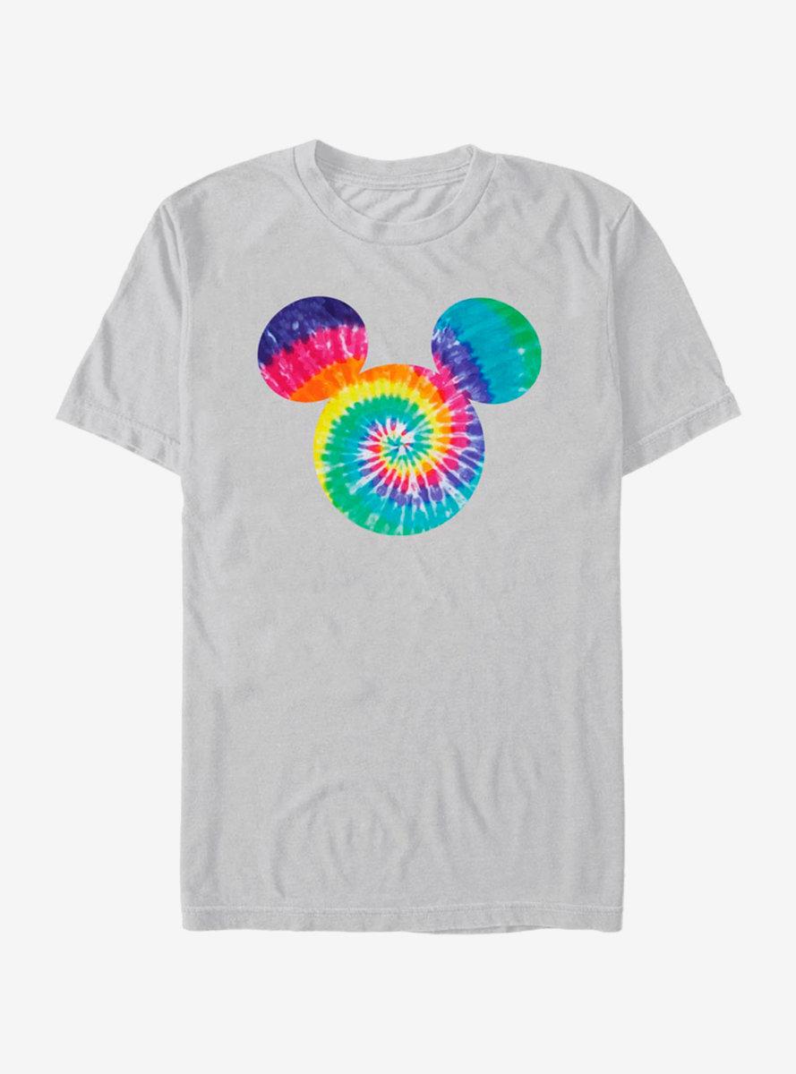 Disney Mickey Mouse Tie Dye Fill T-Shirt