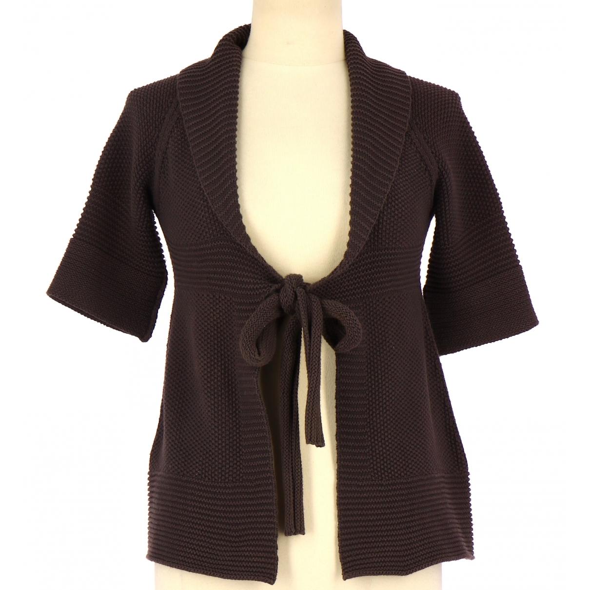 Comptoir Des Cotonniers \N Brown Cotton Knitwear for Women 36 FR