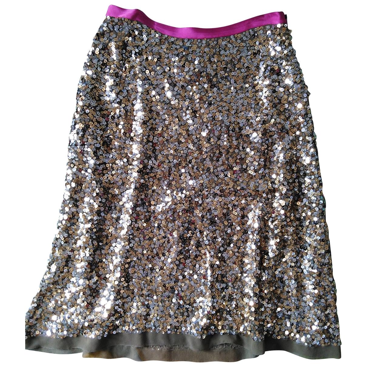 La Perla \N Beige Glitter skirt for Women 42 IT