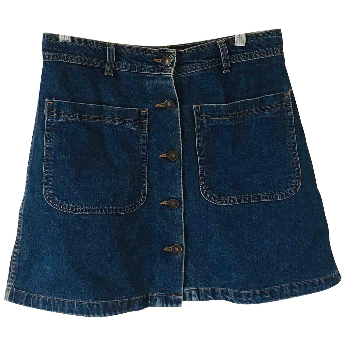 Zara \N Blue Denim - Jeans skirt for Women S International