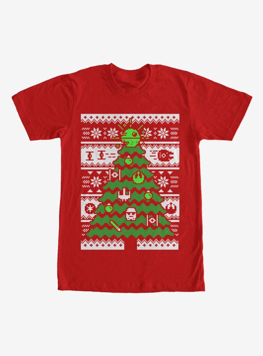 Star Wars Ugly Christmas Sweater Tree T-Shirt