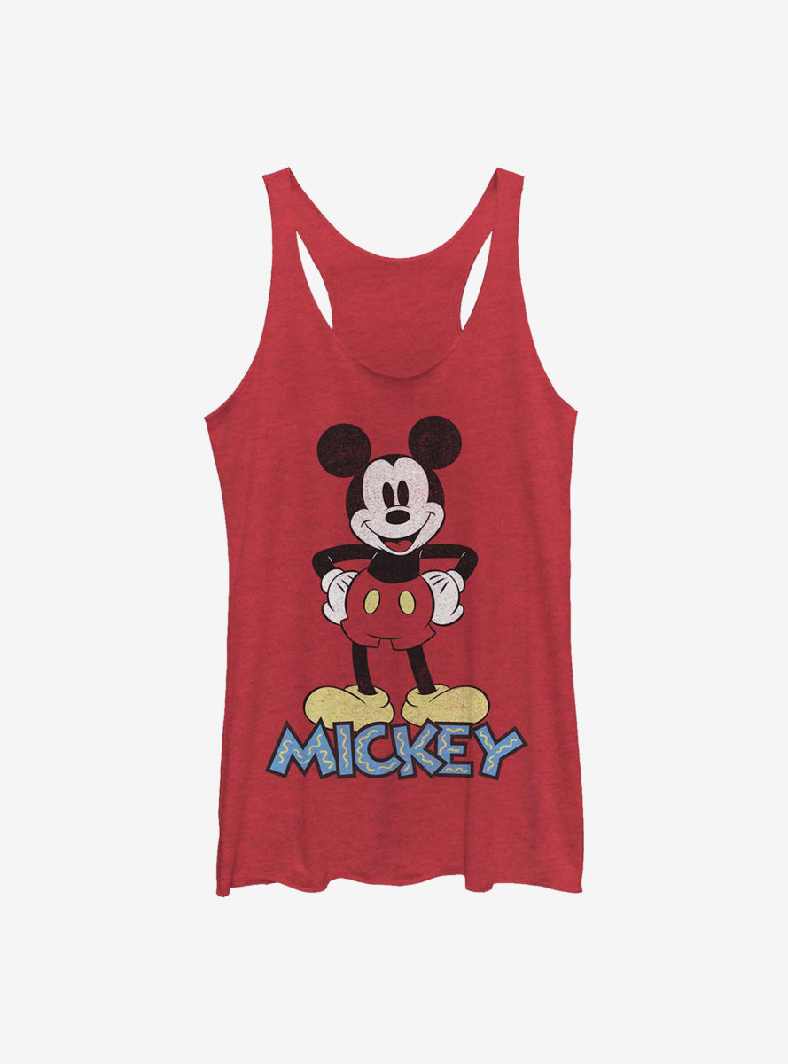 Disney Mickey Mouse 90s Mickey Womens Tank Top