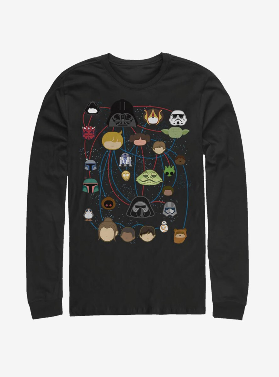 Star Wars Galaxy Connected Long-Sleeve T-Shirt