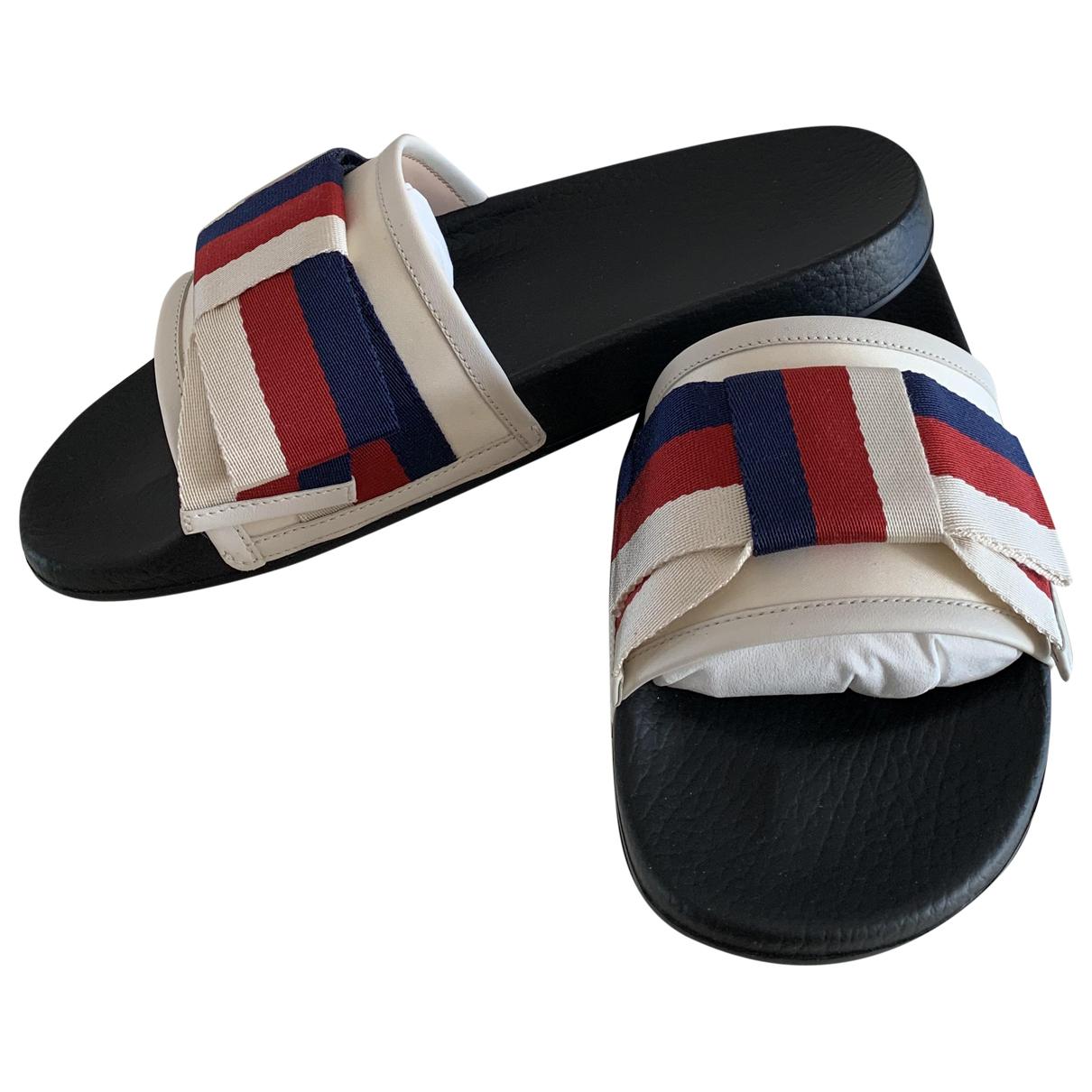Gucci - Sandales   pour femme en caoutchouc - noir