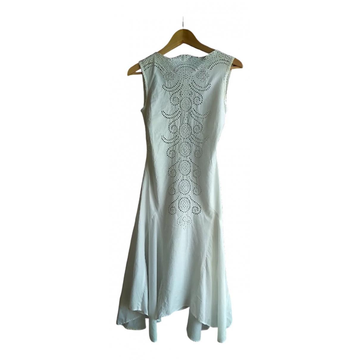 John Richmond \N White Cotton dress for Women S International