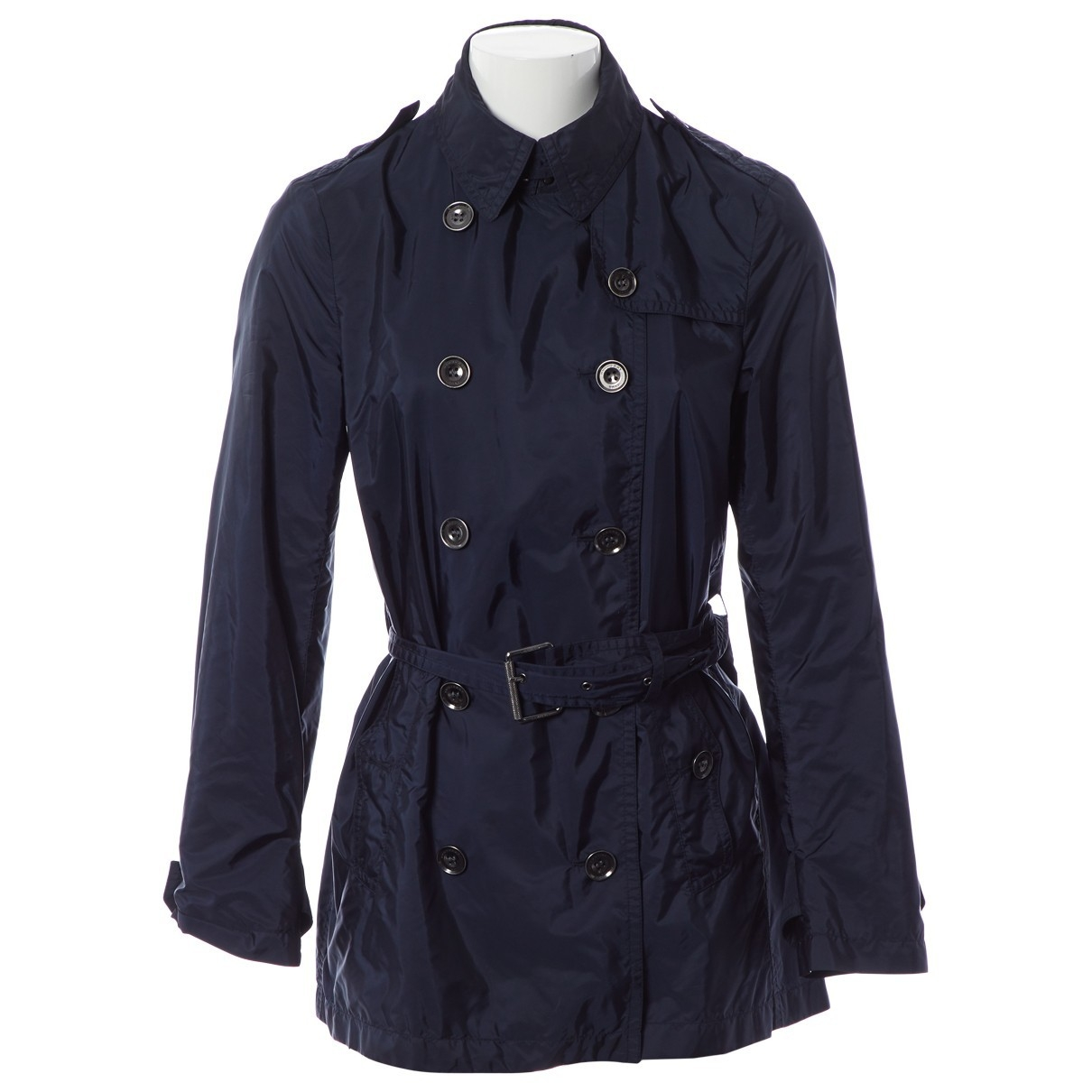 Burberry - Trench   pour femme - marine