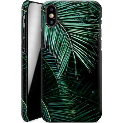 Apple iPhone X Smartphone Huelle - Palm Leaves 9 von Mareike Bohmer