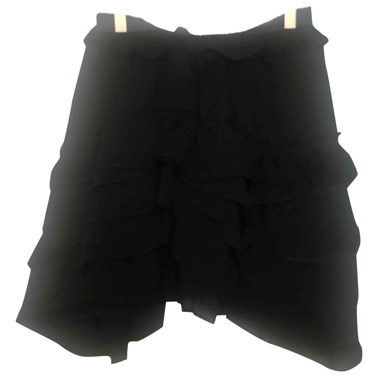 Isabel Marant \N Black Silk skirt for Women 38 FR