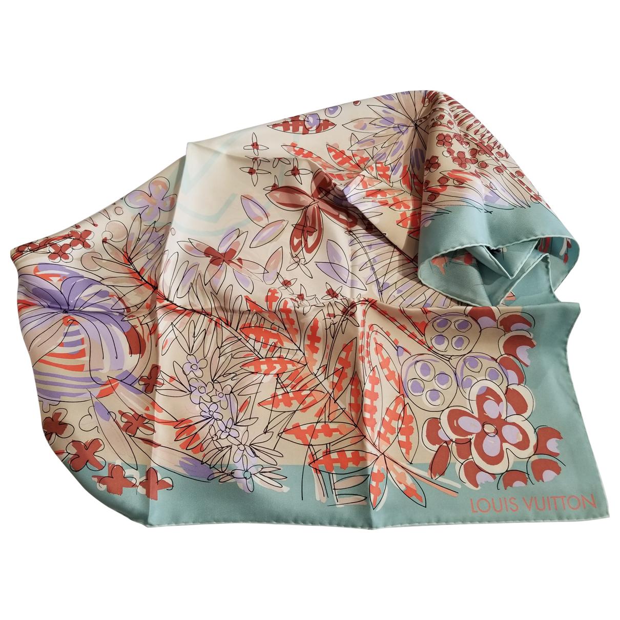 Louis Vuitton N Multicolour Silk scarf for Women N