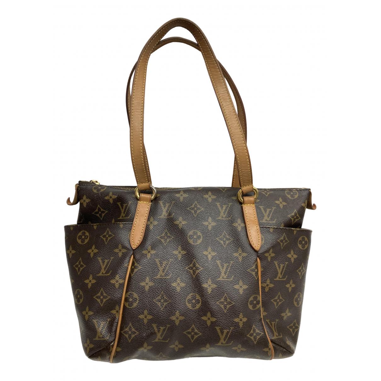 Louis Vuitton Totally Brown Cloth handbag for Women \N