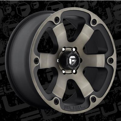 Fuel Offroad Beast D564, 20x9 Wheel with 6 on 135 Bolt Pattern (Black Machined with Dark Tint) - D56420908950