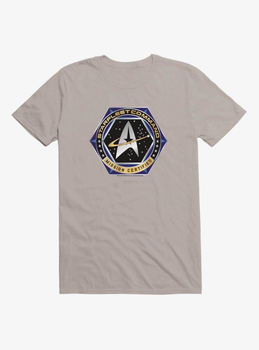 Star Trek Starfleet Command Certified T-Shirt