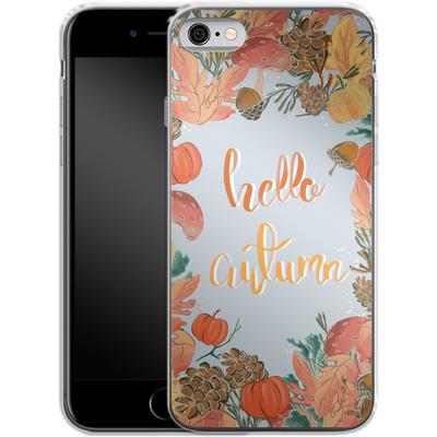 Apple iPhone 6s Silikon Handyhuelle - Hello Autumn von Mukta Lata Barua