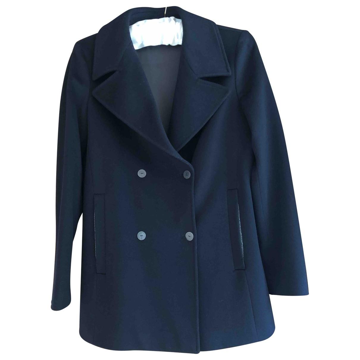 Fabiana Filippi \N Navy Wool jacket for Women 38 IT