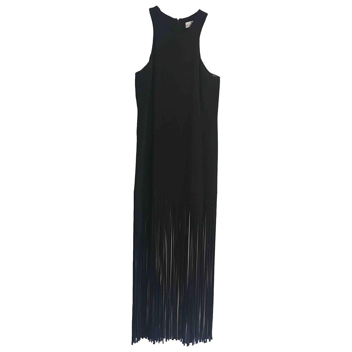 Raey - Robe   pour femme en soie - noir