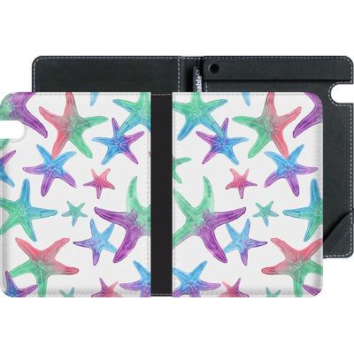Amazon Kindle Voyage eBook Reader Huelle - Starfish Print von Becky Starsmore