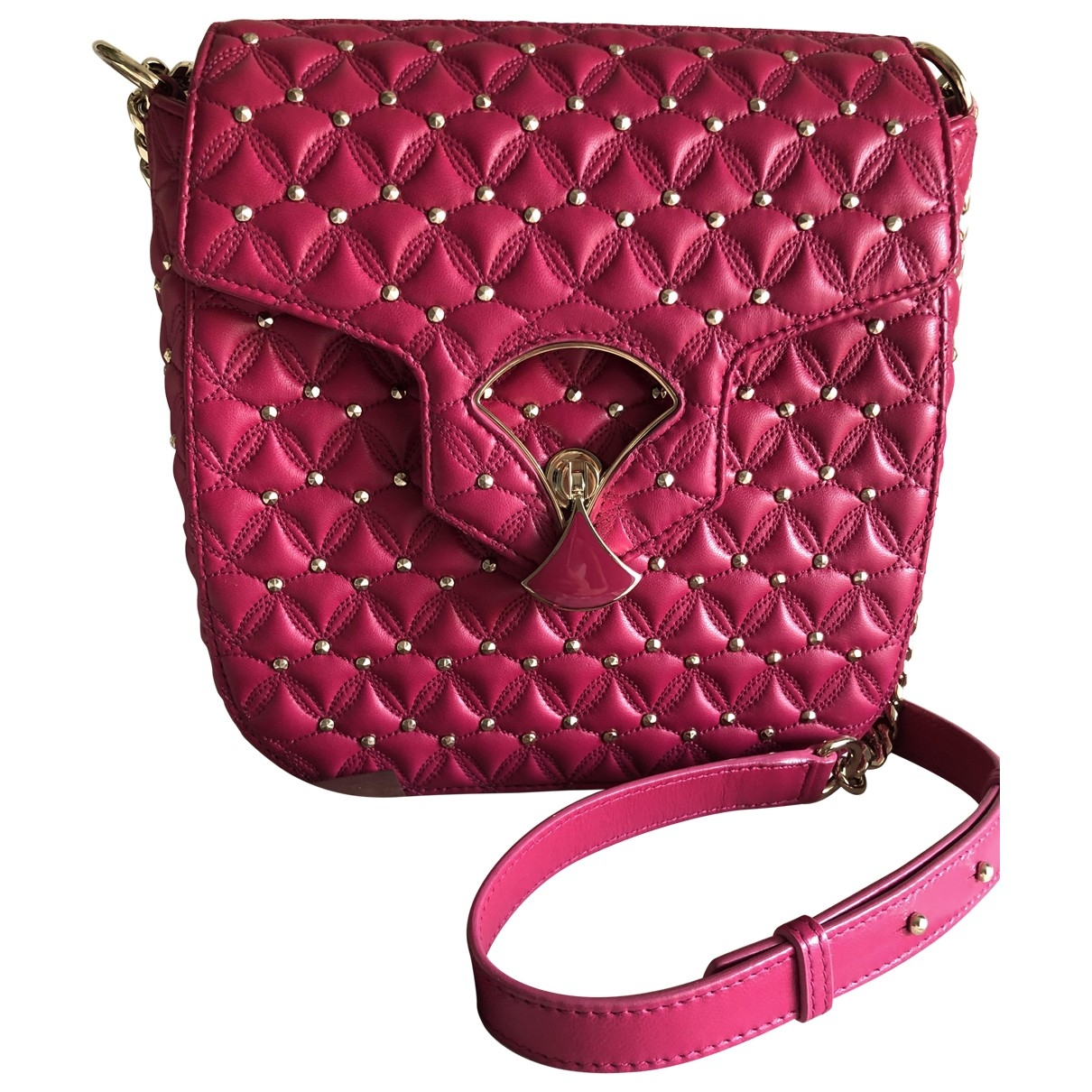 Bvlgari \N Pink Leather handbag for Women \N