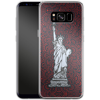 Samsung Galaxy S8 Silikon Handyhuelle - Liberty von Kaitlyn Parker