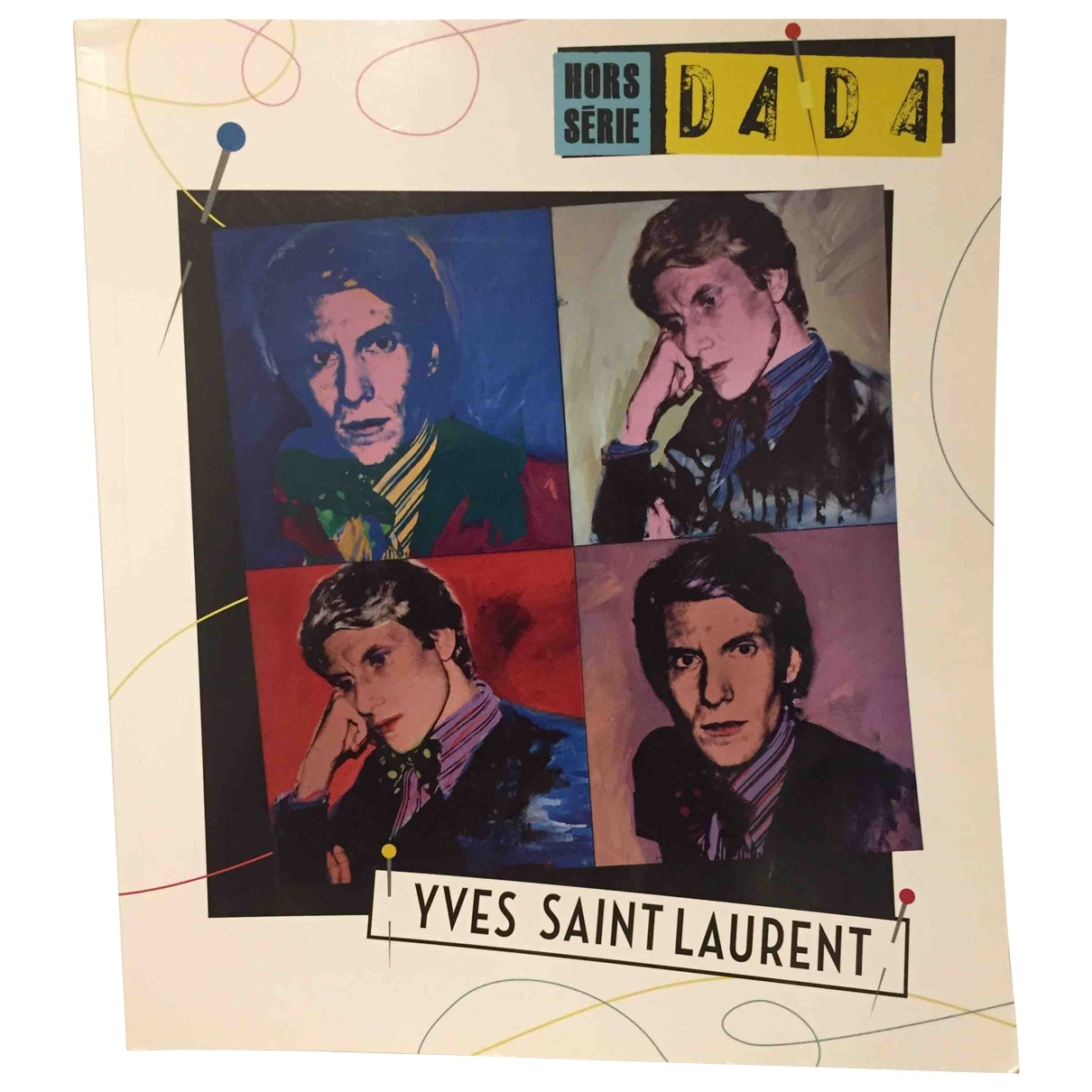 Yves Saint Laurent \N Kunst in  Bunt Holz