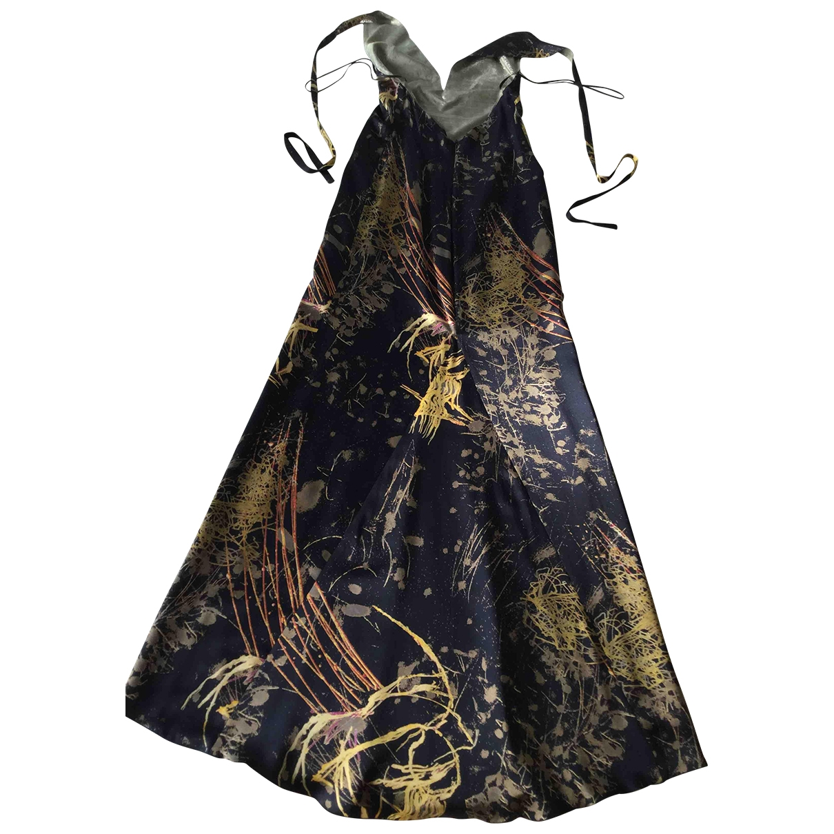 Maxi vestido de Seda Christian Lacroix
