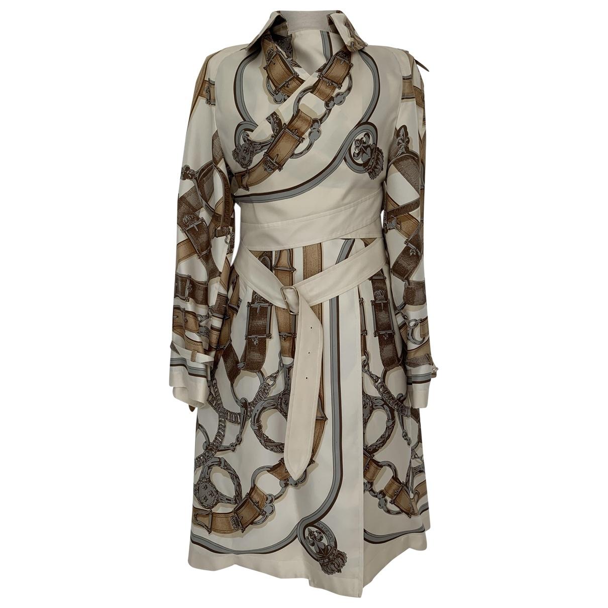 Hermès \N Multicolour Silk coat for Women 38 FR