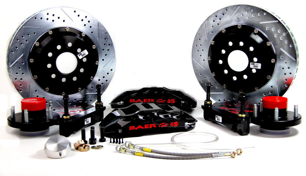 Baer Brakes Brake System 14 Inch Front Extreme+ Black 70-72 Mopar/Dodge/Plymouth E And B Body