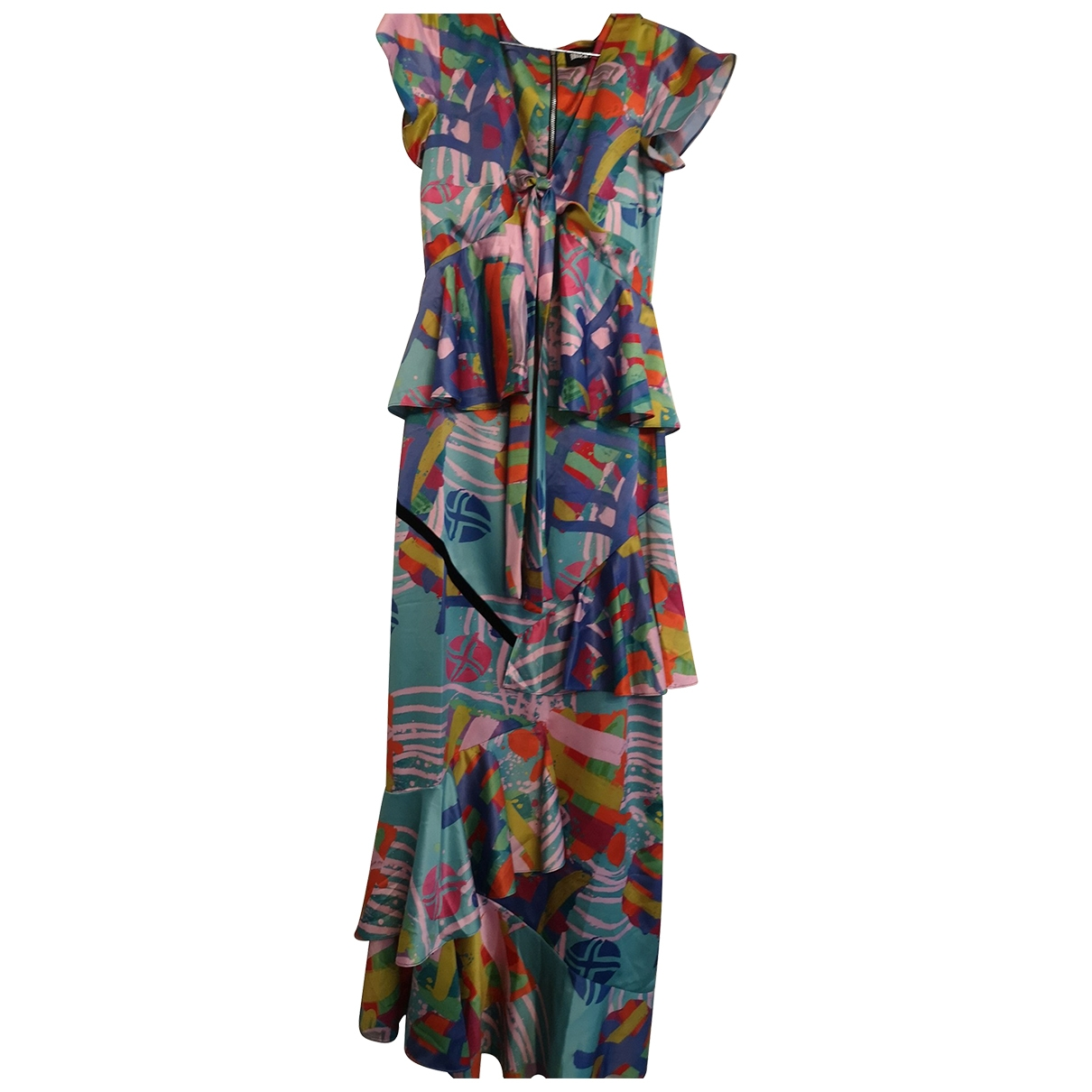 House Of Holland \N Kleid in  Bunt Polyester