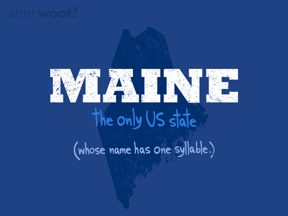 The Only State T Shirt