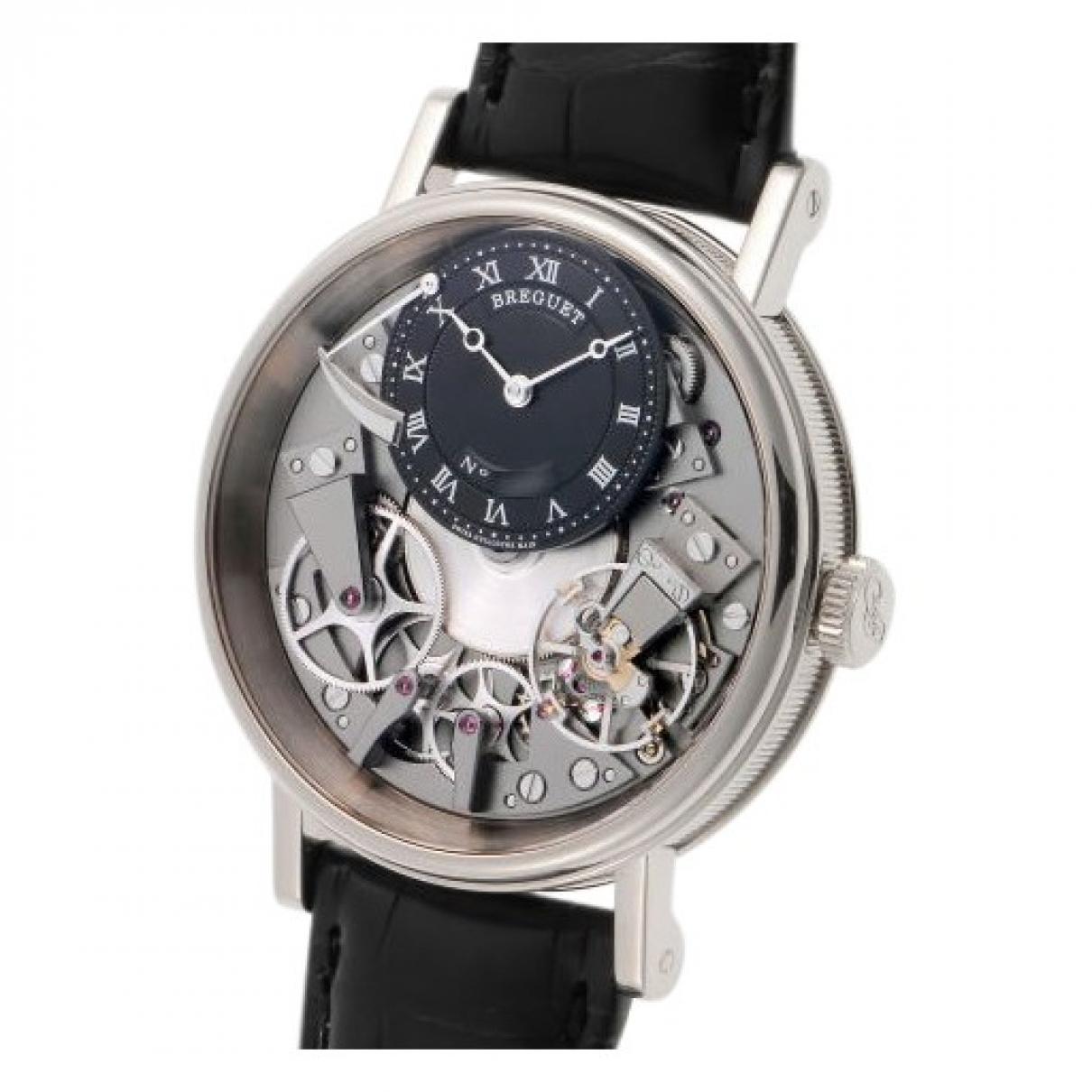 Breguet \N Uhr in  Schwarz Stahl