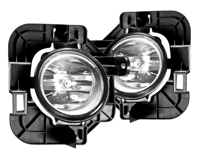 Winjet WJ30-0153-09 Clear OEM Style Fog Lights Includes Wiring Kit Nissan Altima 07-09
