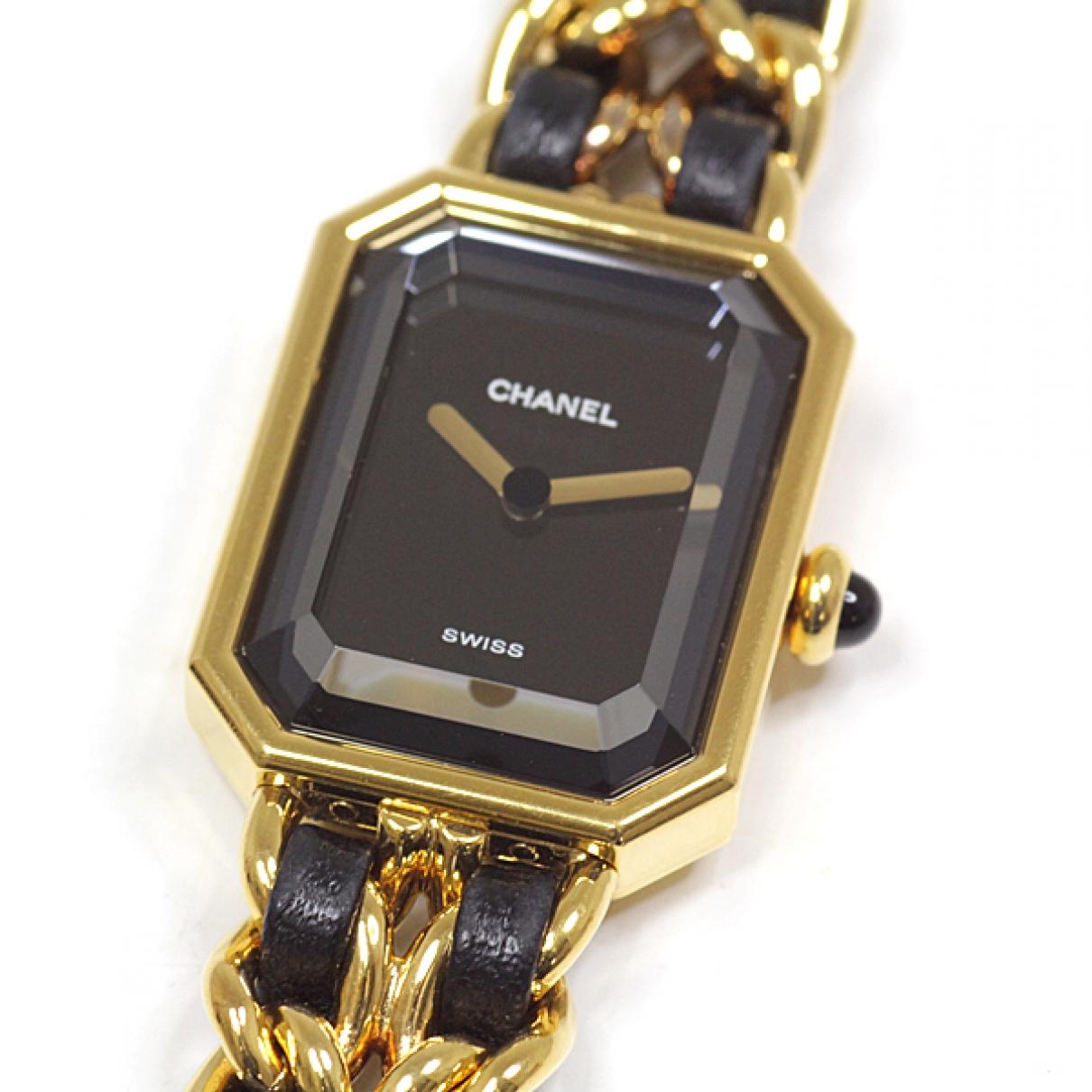 Chanel Premiere Uhr in Vergoldet