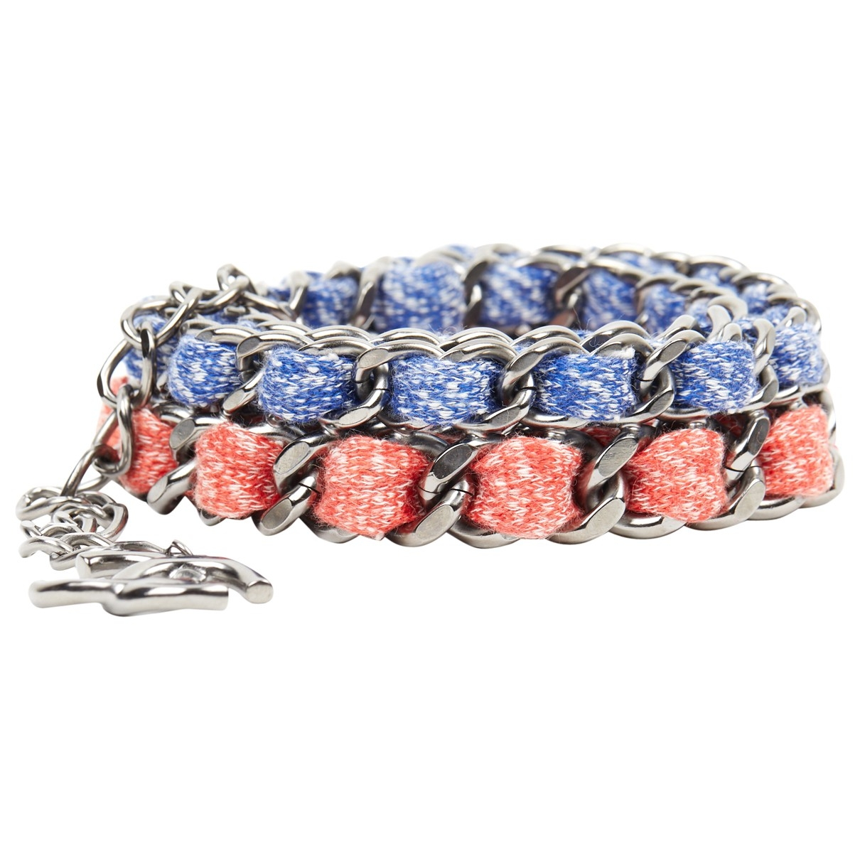 Chanel \N Red Metal belt for Women M International
