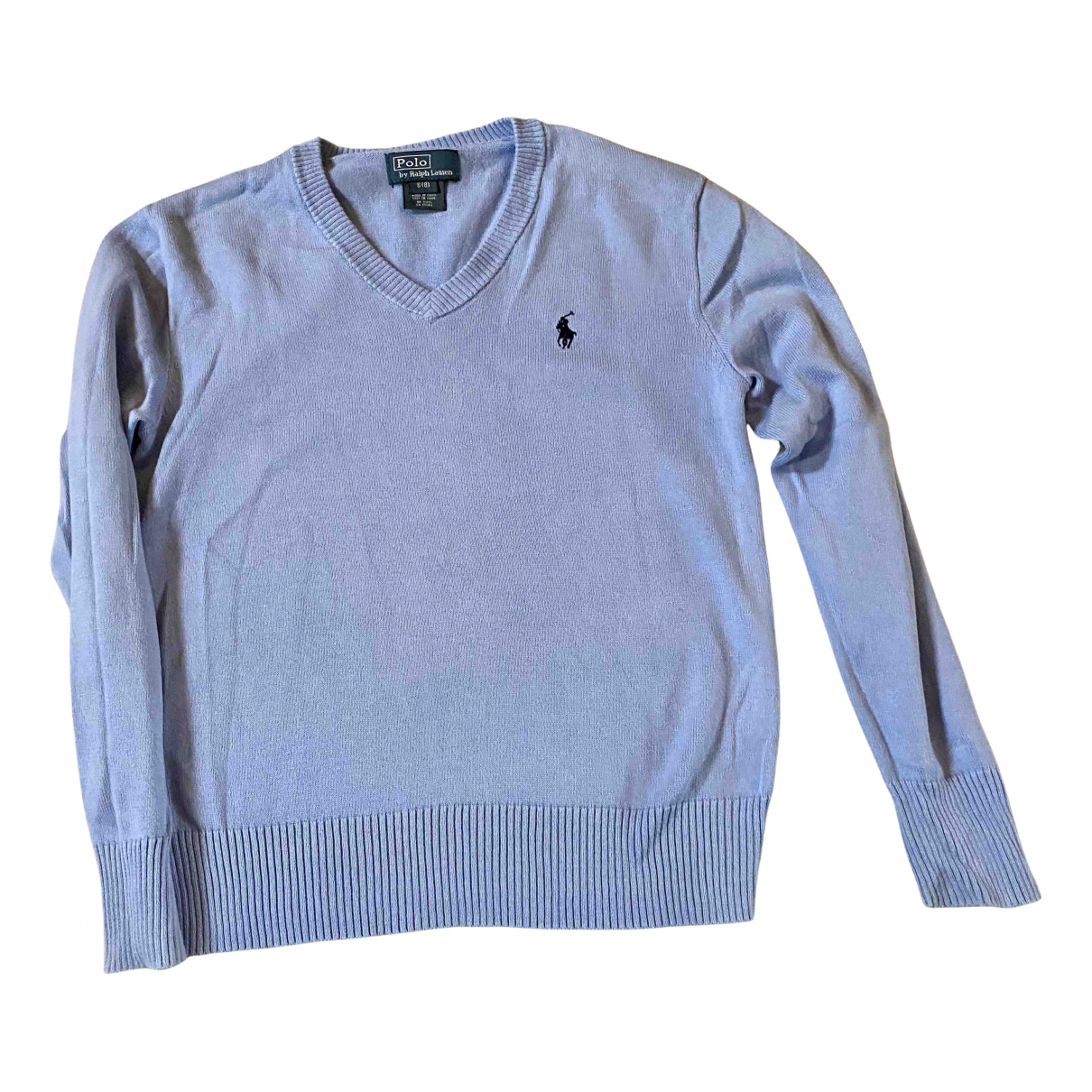 Polo Ralph Lauren N Blue Cotton Knitwear for Kids 8 years - up to 128cm FR