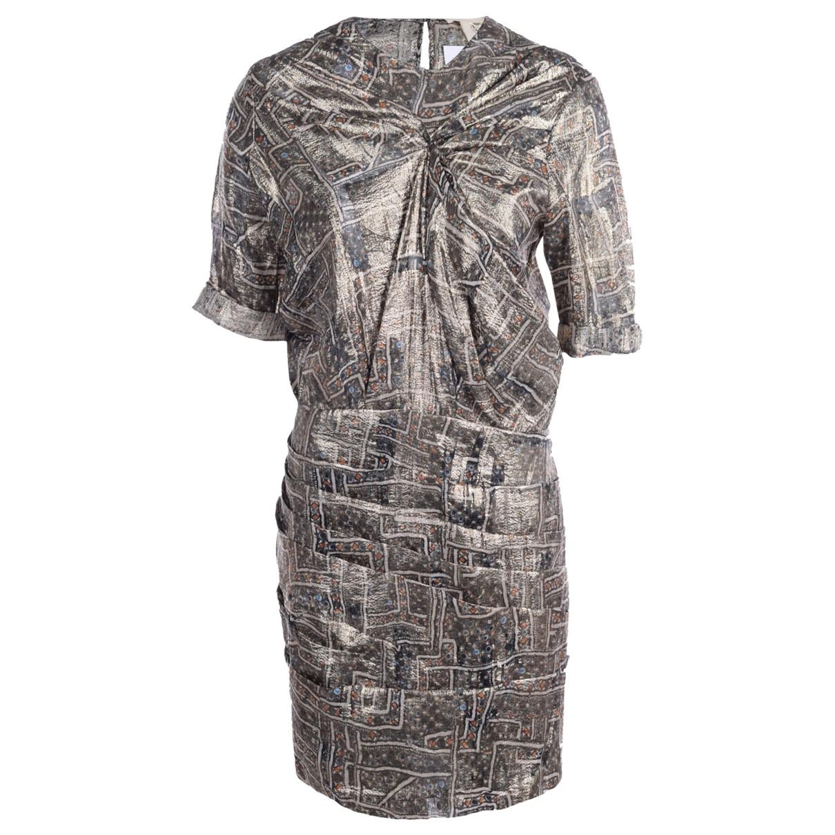 Isabel Marant Pour H&m \N Multicolour Silk dress for Women 42 FR