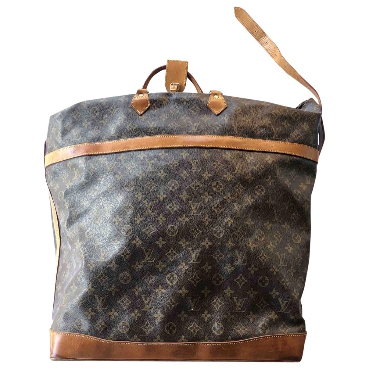 Louis Vuitton Cruiser Reisetasche in Leinen