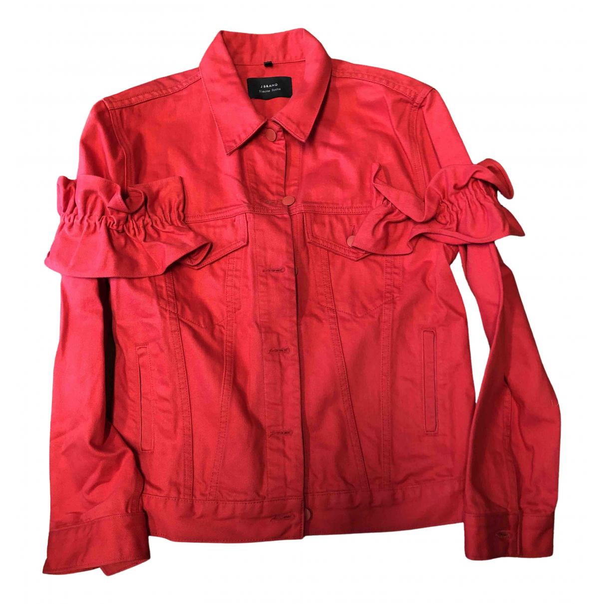 Simone Rocha \N Jacke in  Rot Baumwolle