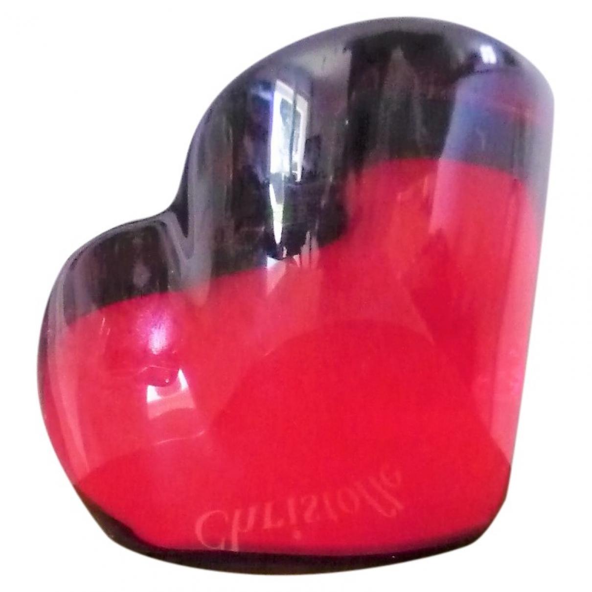 Christofle \N Accessoires und Dekoration in  Rot Kristall