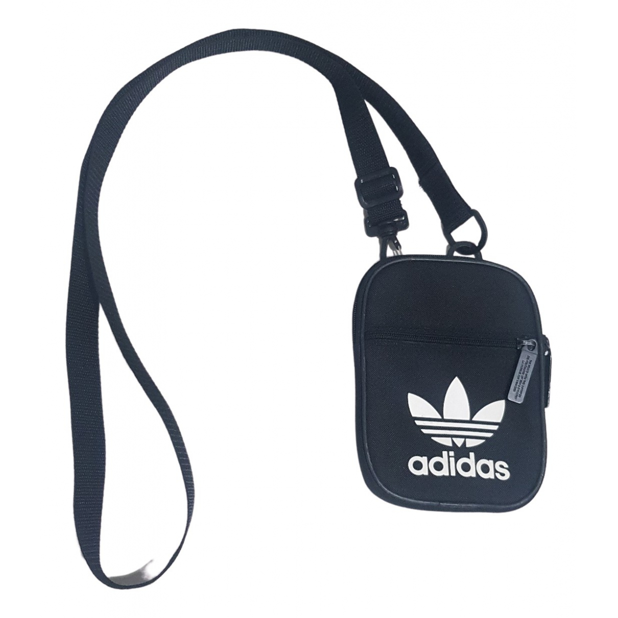 Adidas N Black Cotton Small bag, wallet & cases for Men N