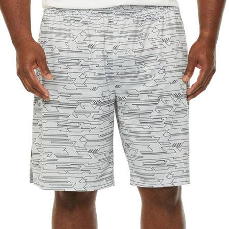 The Foundry Big & Tall Supply Co. Mens Pull-On Short-Big and Tall, 4x-large Tall , Gray
