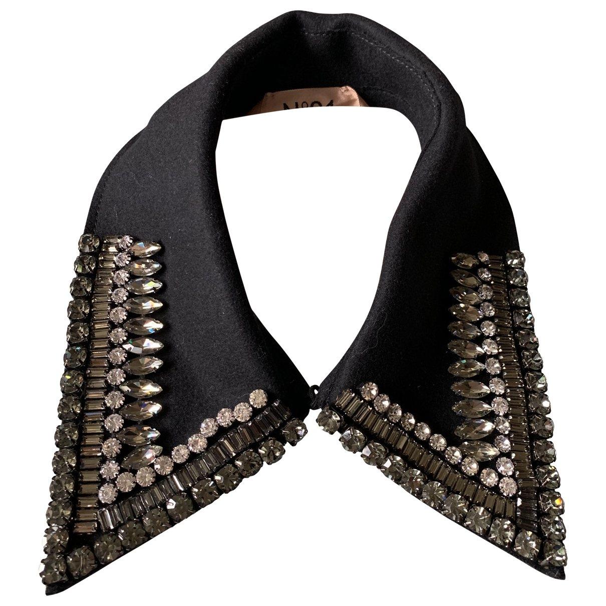 N°21 \N Black Wool scarf for Women \N
