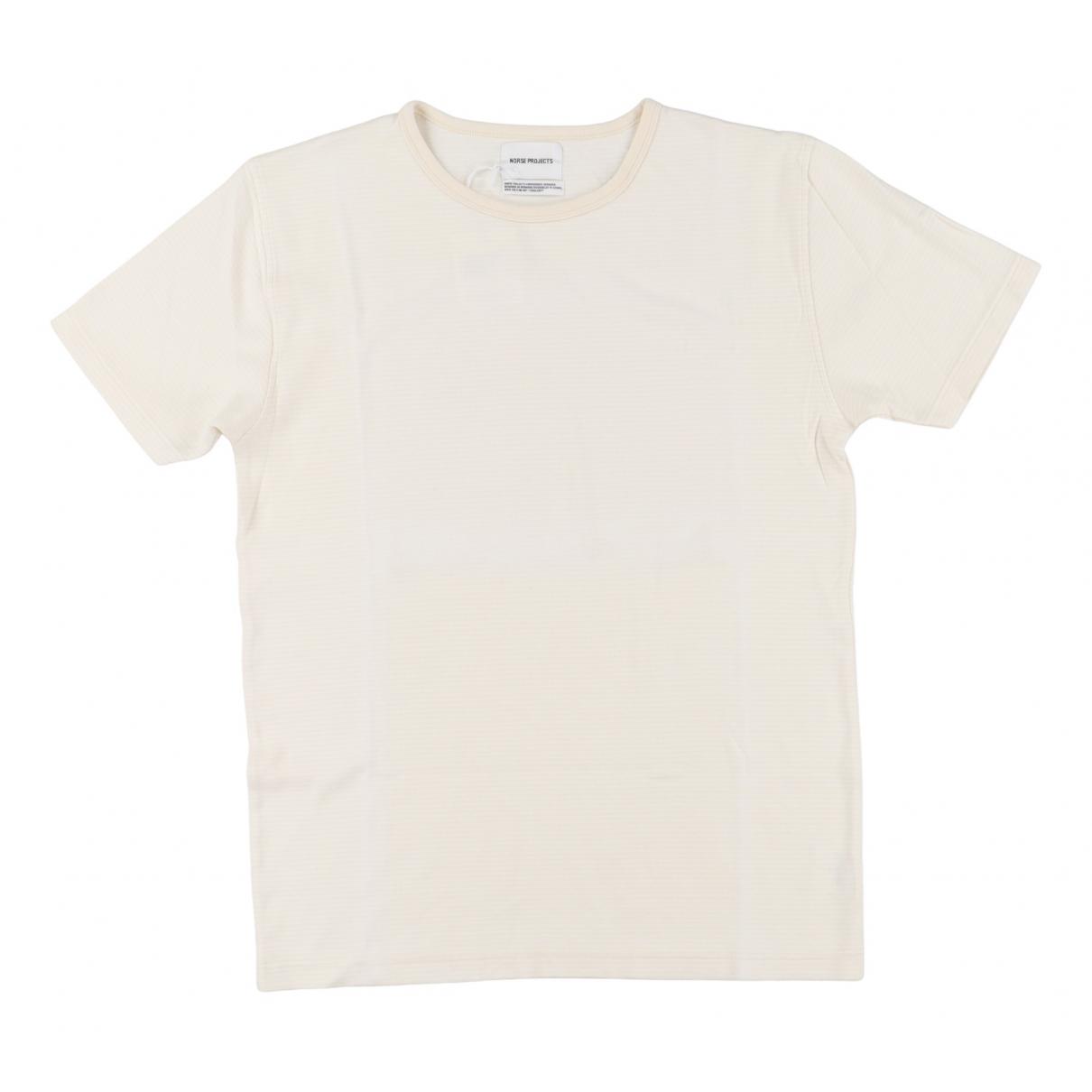 Norse Projects - Tee shirts   pour homme en coton - blanc