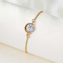 Armband mit Stein Dekor