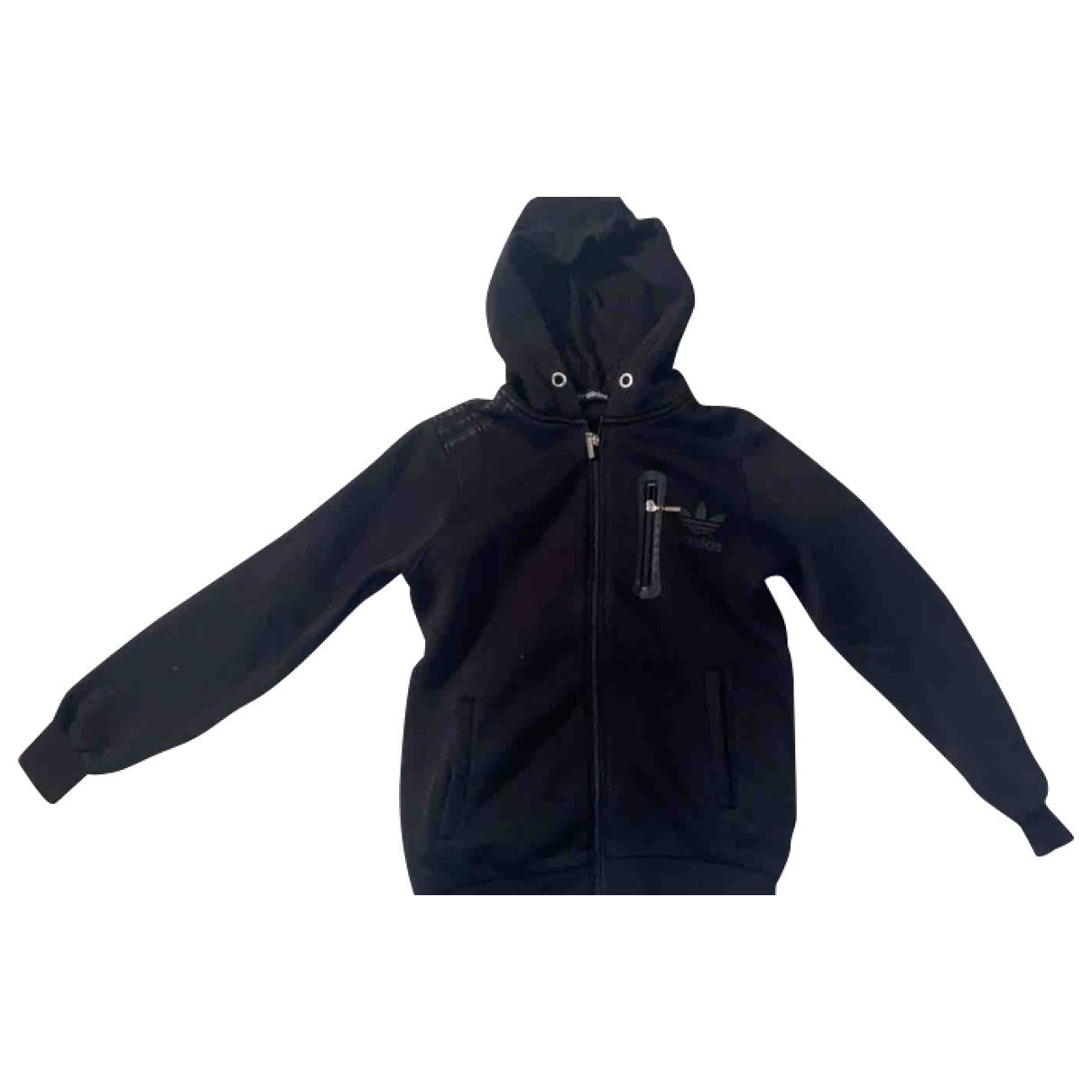 Adidas \N Pullover, StrickJacke in  Schwarz Polyester