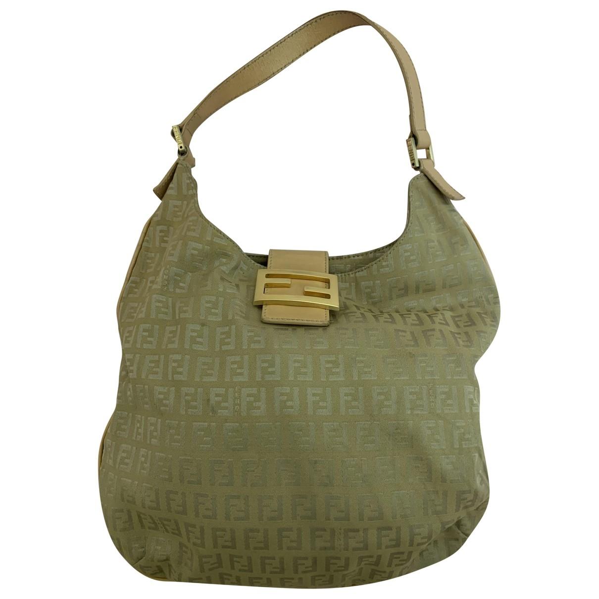 Fendi \N Beige Cloth handbag for Women \N