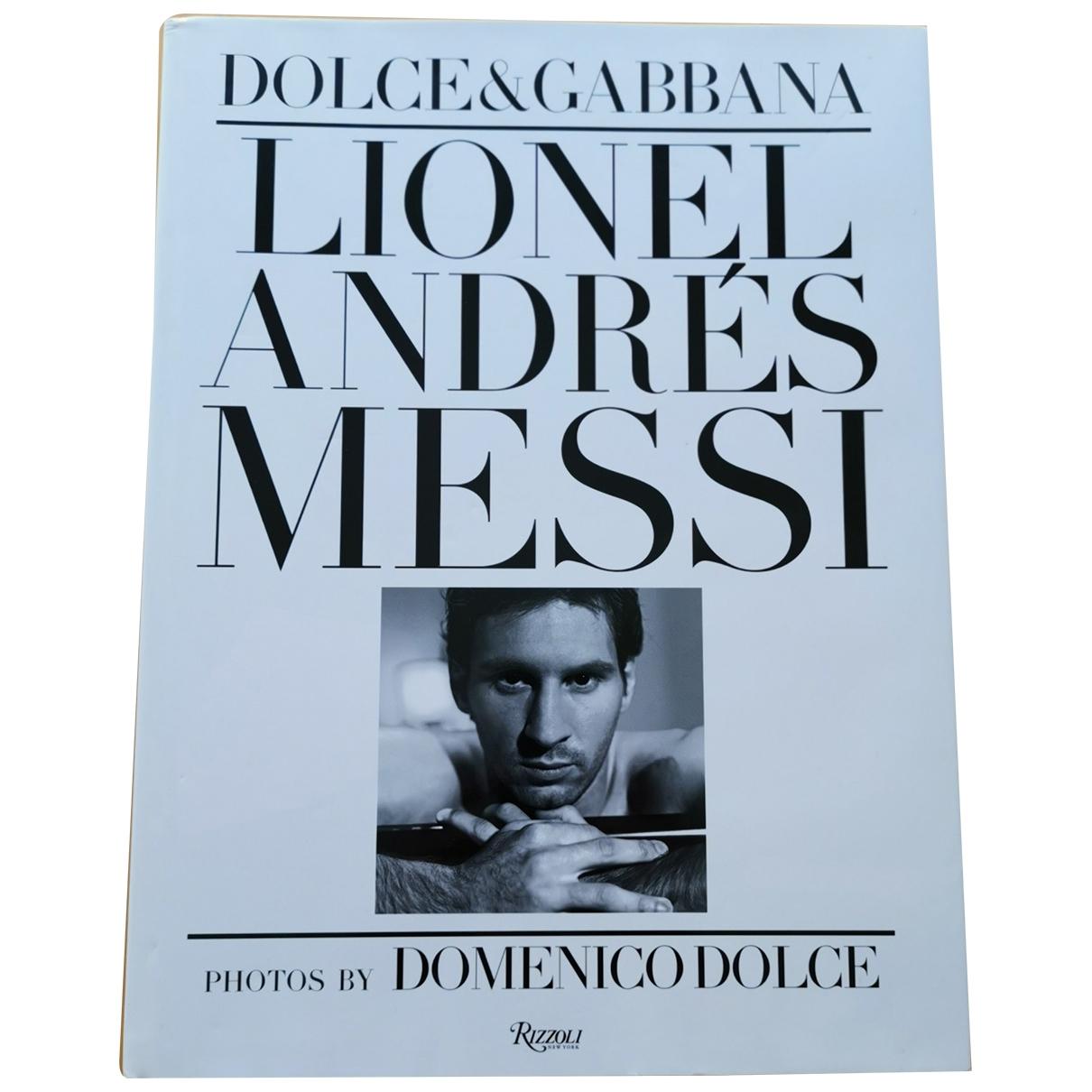 Dolce & Gabbana - Mode   pour lifestyle en coton - blanc
