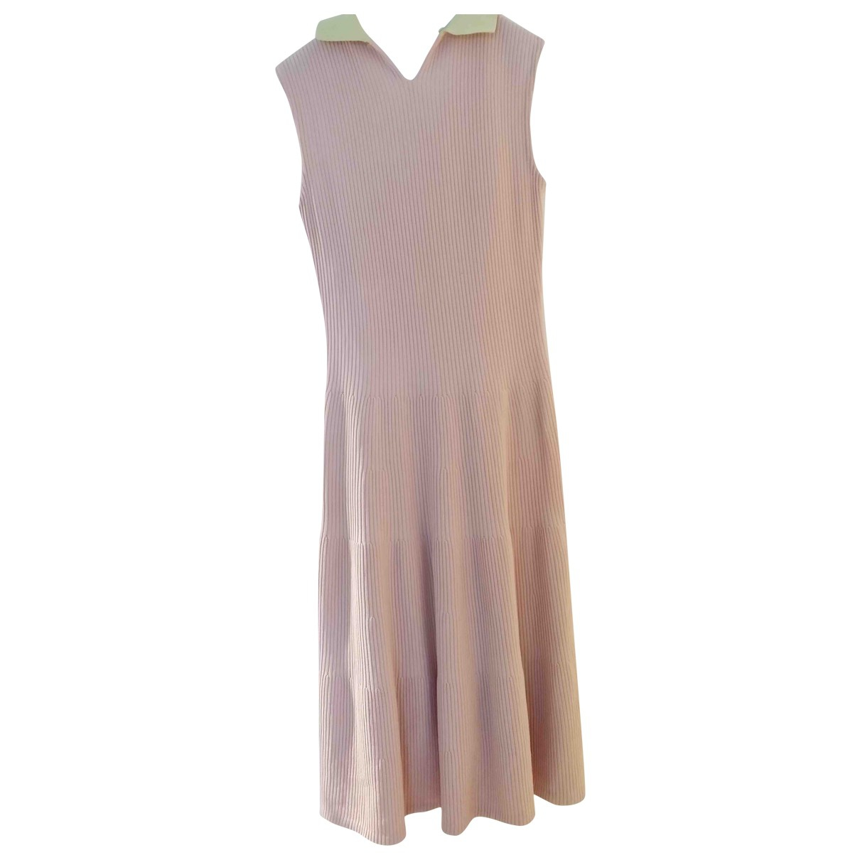 Dior \N Pink Cotton - elasthane dress for Women 34 FR